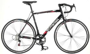 Schwinn Mens Phocus 1400 700C Drop Bar Road Bicycle Black